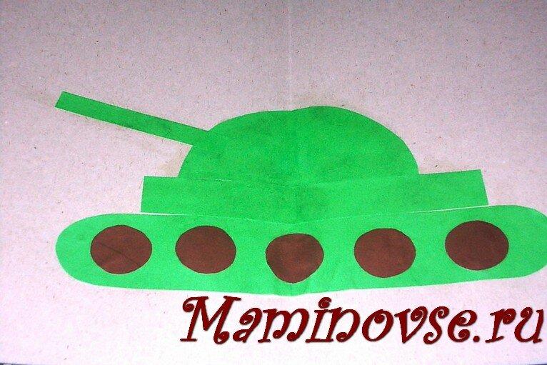 Открытка на день танкиста своими руками