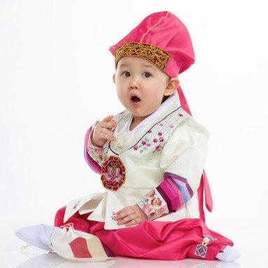 Асянди - первый день рождения у корейского ребенка