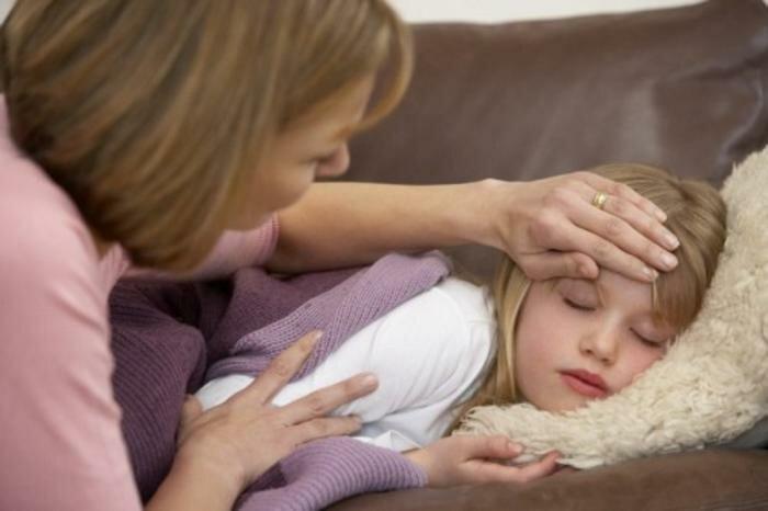 Температура у ребенка 5 лет и слабость