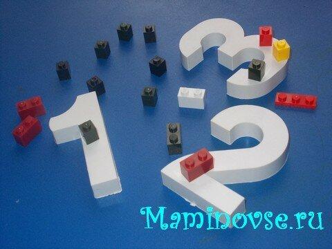 Математика с Лего: готовимся к школе