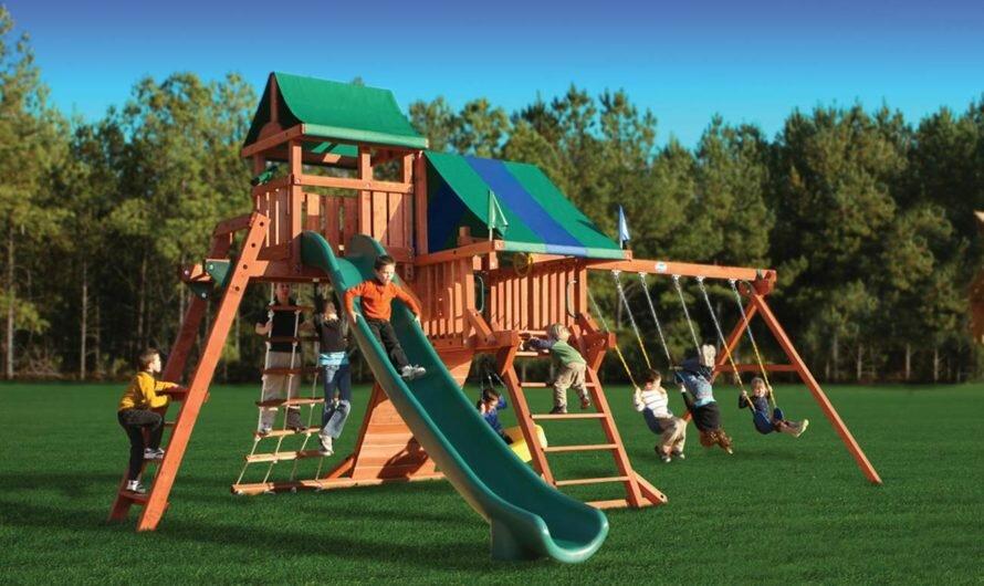 Детские игровые площадки: как без них?