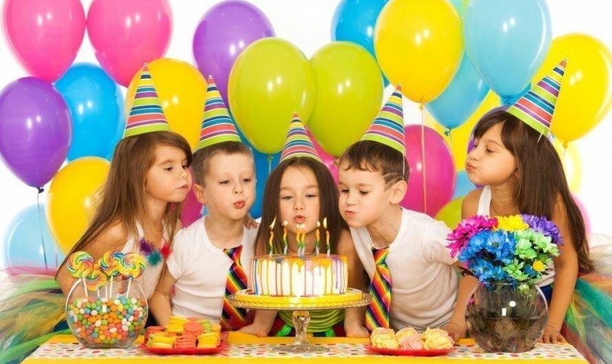 Детский день рождения дома: идеи простые и интересные